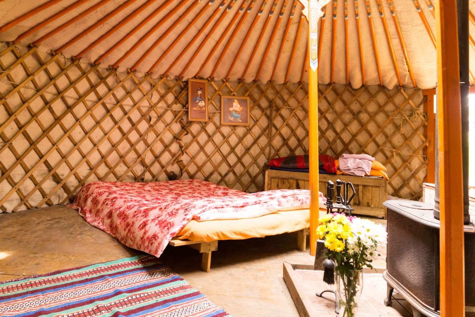 Deerswood yurt